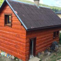 Chata, Čierny Balog, 96 m², Čiastočná rekonštrukcia