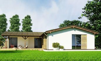 Nízkoenergetický rodinný dom na pozemku 4,22 ára v obci Golianovo