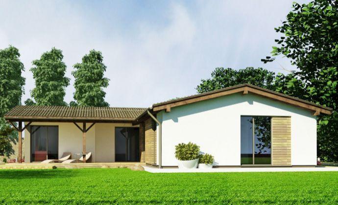 Nízkoenergetický rodinný dom v obci Golianovo