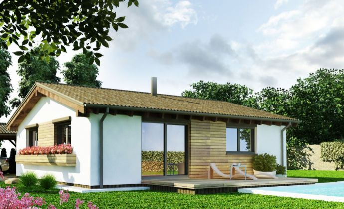 3 izbový nízkoenergetický rodinný dom v obci Golianovo