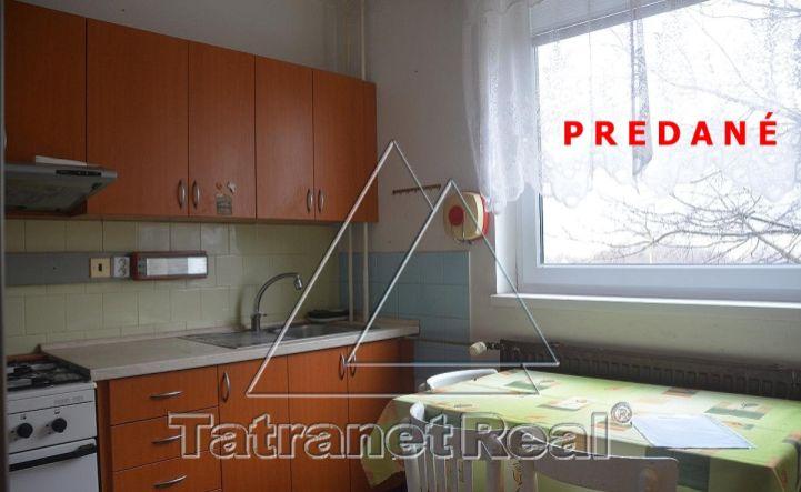 REZERVOVANÉ - 2 izbový byt na Sídlisku pod Sokolejom