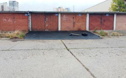 PRENÁJOM garáž, Bratislava Rača - Výhonská ulica EXPISREAL