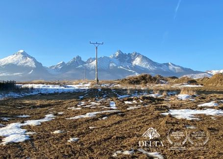 A31 Pozemok  v nádhernom prostredí Vysokých Tatier - predaj