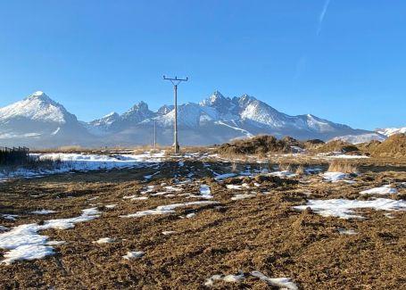 B12 Pozemok  v nádhernom prostredí Vysokých Tatier - predaj