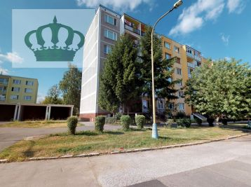 REZERVOVANÉ - 3D VIDEO PREHLIADKA - Košice II, Košice-Západ, Terasa, Luník VIII – 1 izbový byt na predaj, pôvodný stav