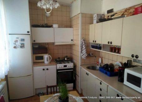 DELTA - Slnečný 3-izbový byt s balkónom na predaj Poprad - Starý Juh