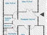 4 izb. byt, HUMENSKÉ NÁM, 83,36 m2, 4. posch./8, po NOVEJ rekonštrukcii