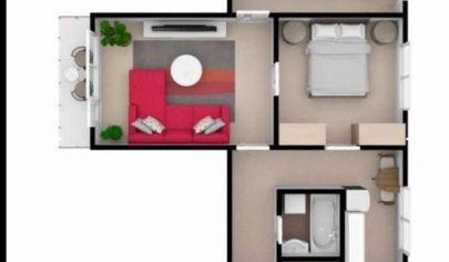 Na predaj 3. izbový byt Malacky, Partizánska.
