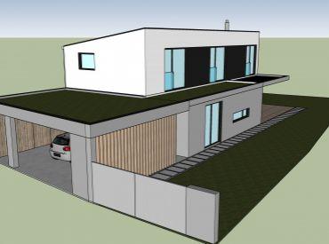 5i dom, 207 m2 – CÍFER: pozemok 800 m2, kvalitná NOVOSTAVBA, bazén, centrum obce pri škole