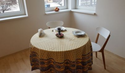 MARTIN FOR RENT furnished 2 bedroom flat 51m2 with balcony, city centre