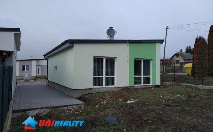 NOVOSTAVBA rodinného domu pár km od Bánoviec nad Bebravou