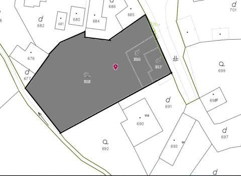 PREDANÝ - Na predaj veľký stavebný pozemok so všetkými sieťami v obci Jablonové