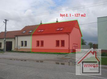 !!! byt č. 1 rezervovaný !!!  Skolaudovaná novostavba - Radový dom / Mezonetový 4 izbový byt Vlčkovce