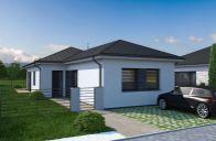 Novostavba nízkoenergetického 4-izbového rodinného domu