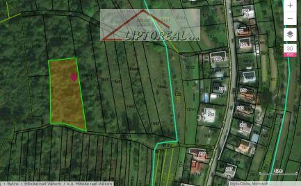 Rekreačný pozemok Hlboké nad Váhom, 2404 m2