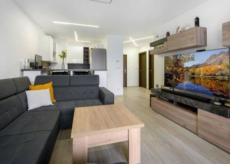 Nadštandardne zariadený 2 izbový byt, Račianska - URBAN RESIDENCE, 63 m2