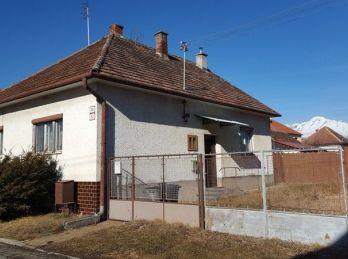 Na predaj rodinný dom v Spišskej Teplici