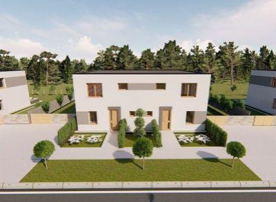 Usporiadané dvojpodlažné 4-izbové rodinné domy s peknými priestrannými záhradami