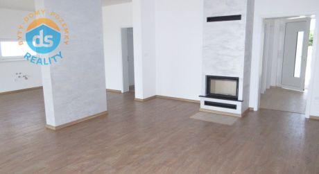 Na predaj novostavba 4 izb. rodinný dom + 2 parkovacie miesta, pozemok 637m2, Sokolovce okr. Piešťany