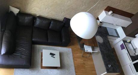 Predaj 3 izbového loftového bytu na Frankovskej ulici aj s garážovým státim v Mestskej vile.