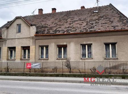 Rodinný dom Topoľčany - Pod Kalváriou - bývanie - podnikanie