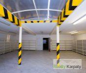 Na prenájom lacno dvojpodlažné sklady 2 x 747m2, Bratislava-III.