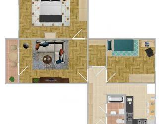 Predaj 3 izbový byt 73 m2 Žilina Hliny VII