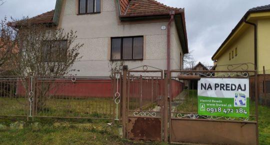 Na predaj 4 izbový rodinný dom 3200 m2 Nedašovce 102003