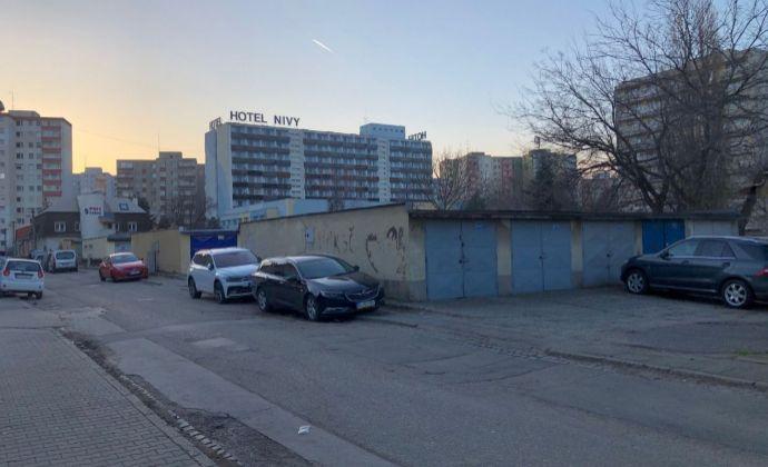 BA II Ružinov ul. Priekopy k.u. Nivy predaj garáže s pozemkom a elektrickou prípojkou.