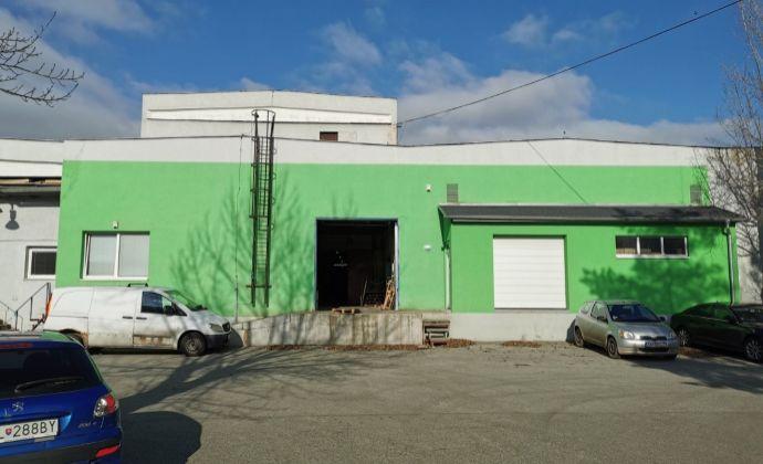 Veľký vykurovaný sklad o výmere 922 m2, Bojnícka ul., BAIII- Nové Mesto