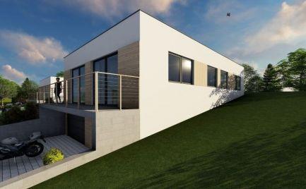 Rodinný dom - novostavba  4+KK, Breziny  s pozemkom 580 m2, 10 km od Zvolena – Cena 154 000€