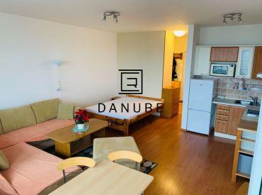 Prenájom 1 izbový byt v objekte Koloseo, Tomášikova ulica, Nové Mesto, Bratislava.