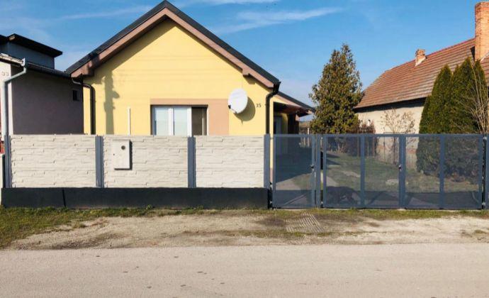 Veľmi pekný 3-izbový rodinný dom v tichom prostredí po kompletnej rekonštrukcii