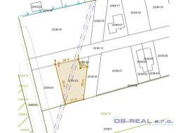 Mostová: Predaj stavebných pozemkov pre výstavbu rodinných a 4-byt. domov