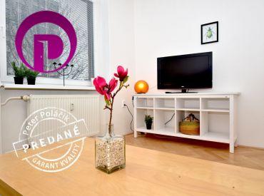 REZERVOVANÉ: 2i byt, 64 m2 – BA-Ružinov: atraktívna lokalita plná zelene pri kúpalisku Delfín