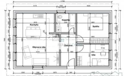RD - novostavba bungalow 3+KK, Zvolenská Slatina  s pozemkom 333 m2, pri Zvolene – Cena 115 000€