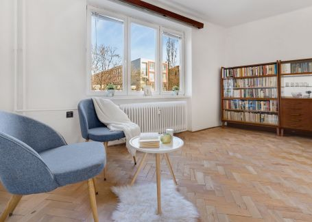 3-izb. byt v tichom prostredí, širšie centrum, Nivy, 75 m2
