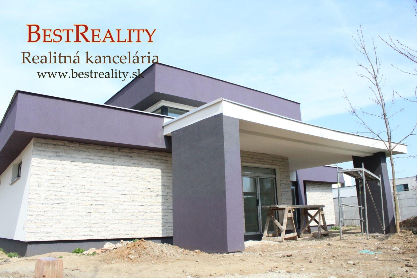 Rodinný dom na predaj Skolaudovaný BUNGALOV pod lesom 919 m2 pozemok, Ivanka pri Dunaji www.bestreality.sk