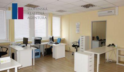 PRENÁJOM: Kancelárske a skladové priestory pri Poluse