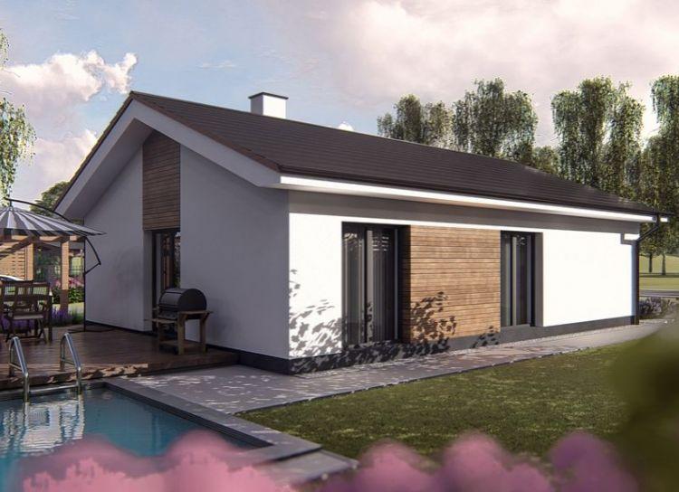 NOVOSTAVBA - 4 izbový bungalov, Necpaly, okres Martin,