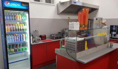 Predaj zariadenia z prevádzky rýchleho občerstvenia za výhodných podmienok