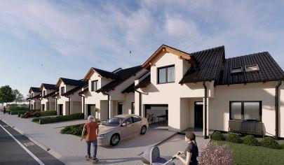 Novinka !!! Práve začal predaj nových rodinných domov v Senici, časť Mlyny