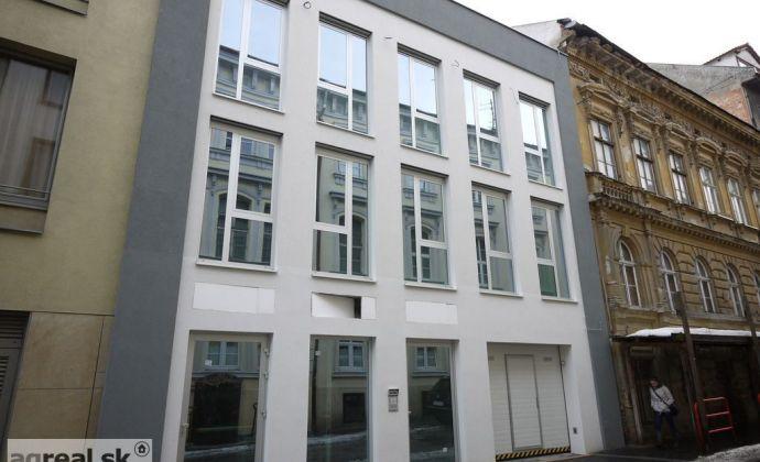 Nebytový priestor vhodný ako apartmán, 135,5 m2 + záhrada s terasou 66,9 m2 novostavba Kozia