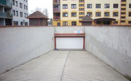 Ponúkame na prenájom garážové státie v podzemnej garáži na Mierovej ulici v Prievoze.