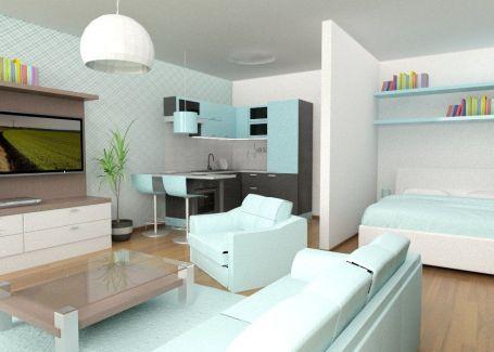 1izbový byt s predzáhradkou - NOVOSTAVBA Uzbecká ulica