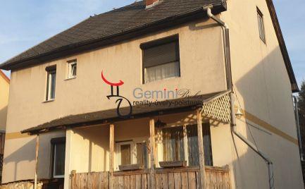 GEMINI BROKER Vám ponúka novší rodinný dom vhodný aj na okamžité bývanie v obci Gonc