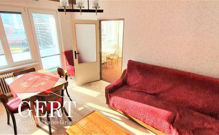 Liptovský Hrádok-slnečný 2-izb.byt s dvoma balkónmi