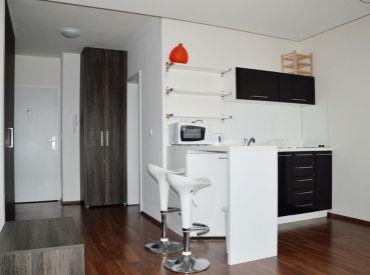 Voľný od 1.5.,na prenájom krásny 1-izbový byt s balkónom v novostavbe, Guothova ul., Kramáre