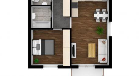 Predaj nového 2 izb. bytu s výhľadom na Tatry, Hviezdoslavova ul., Poprad