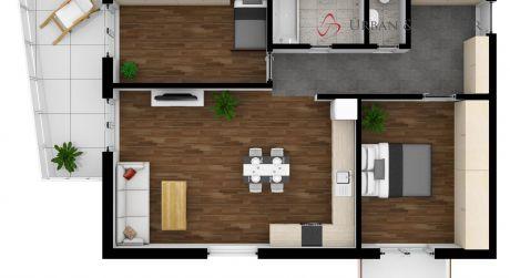 Predaj nového 3 izb. bytu s balkónom aj terasou na Hviezdoslavovej ul. v Poprade